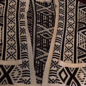Aztec sweater/cardigan